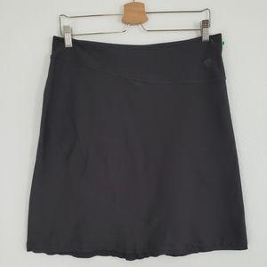 Mountain Hardwear Black Knit Sport Skirt